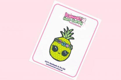 kawaii pineapple hair clip
