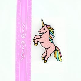 Pink Unicorn Hair Clip for Girls – Rainbow Unicorn