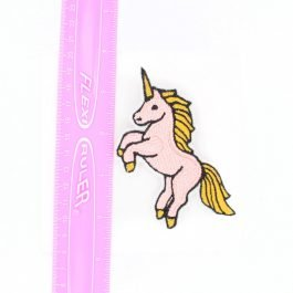 Cute Kawaii Unicorn Hair Clip – Pink & Gold