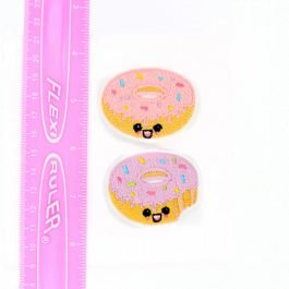 Kawaii Donut Hair Clip Set of 2