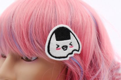 kawaii onigiri hair clip set