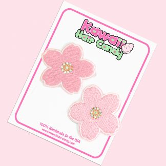 Japanese Kawaii Cherry Blossom Hair Clip