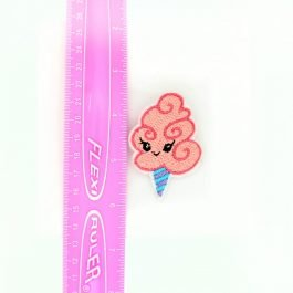 Kawaii Cotton Candy Hair Clips Set of 2