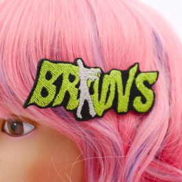Zombie Brains Hair Clip for Women