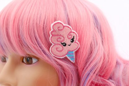 kawaii cotton candy hair clip set