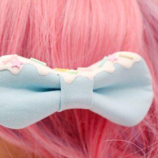 Kawaii Hair Bow Blue