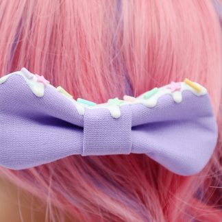 Kawaii Hair Bow Lavender