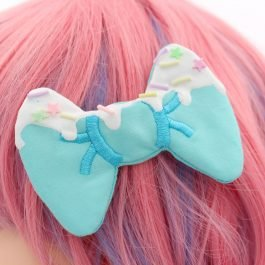 Super Cute Kawaii Frosted Decoden Hair Clips