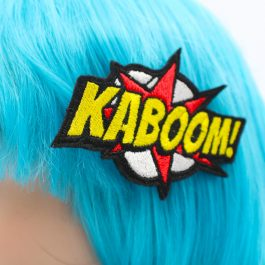 KaBoom! Comic Book Hair Clip