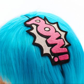 superhero headbands POW! Comic Book Headband