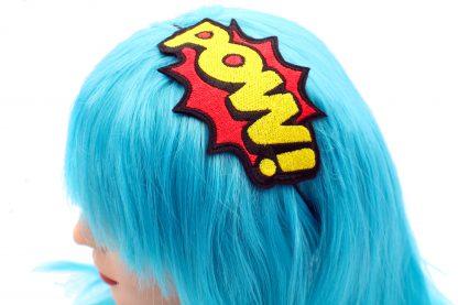 POW! comic book headband