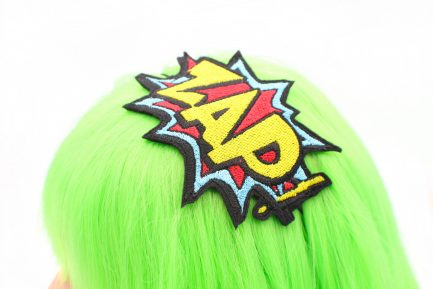 zap comic book headband
