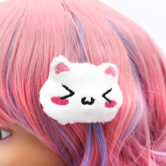 Kawaii Cat Plush Hair Clip