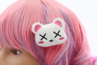 Kawaii Dead Bear Plush Hair Clip