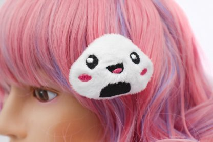 Kawaii Onigri Plush Hair Clip