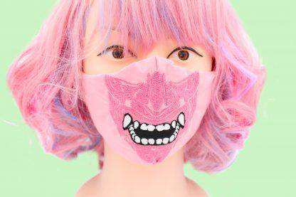 Samurai Adult Face Mask With Filter Pocket