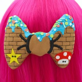 Frosted Decoden Gamer Girl Hair Bow