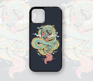 Dragon iPhone Case Designer Retro for 12, 12 Pro, 12 Pro Max, 11, 11 Pro, 11 Pro Max, X, XS, XR,