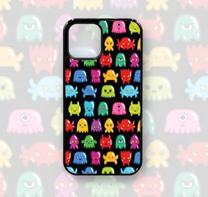 Cute Monster Retro Game iPhone Case