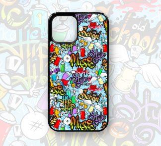 Graffiti Designer Retro Cute Case for iPhone 12, 12 Pro, 12 Pro Max, 11, 11 Pro, 11 Pro Max, X, XS, XR,