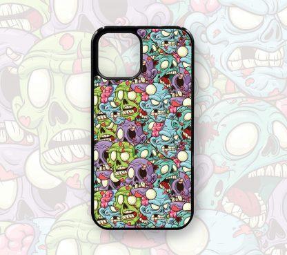 Cute Designer Retro Zombie Case for iPhone