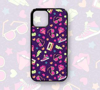 80's Retro Cute Designer Case for iPhone 12, 12 Pro, 12 Pro Max, 11, 11 Pro, 11 Pro Max, X, XS, XR,